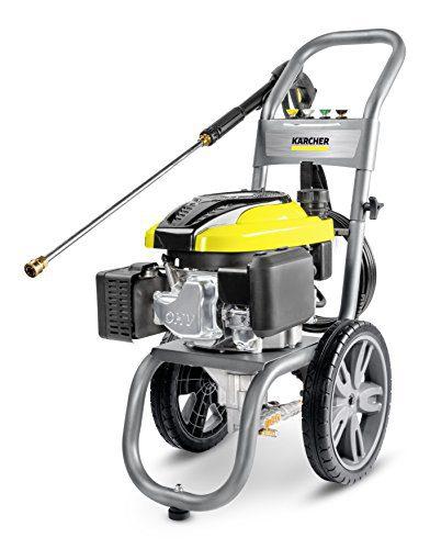 "Karcher Gas Pressure Washer, 15"" x 28"" x 35"", Gray/Yellow"