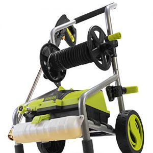 Sun Joe MAX PSI 1.76 GPM 14.5 Amp Electric Pressure Washer and Hose Reel