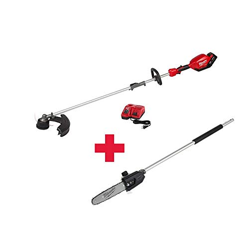 QUIK-LOK FUEL 18-Volt Lithium-Ion Brushless Cordless String Trimmer Kit