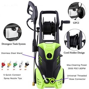 Homdox PSI Electric Pressure Washer, High Pressure Washer