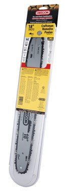 Oregon 18-Inch Guide Bar and AdvanceCut S62 Chainsaw Chain Combo