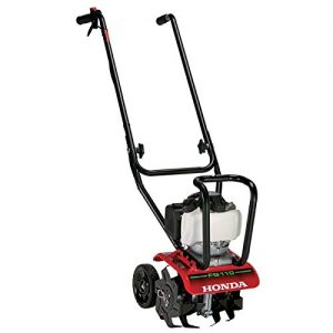 "Honda 9"" 25 cc 4-Cycle Middle Tine Forward-Rotating Gas Mini Tiller-Cultivator"