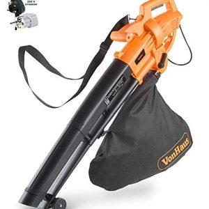 Dynastar VonHaus 220 Volt 3 in 1 Leaf Blower, Garden Vacuum & Mulcher