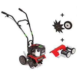 EARTHQUAKE MC43 Mini Cultivator Combo with Edger & Dethatcher