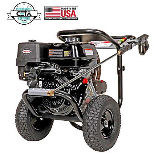 SIMPSON Cleaning PowerShot Gas Pressure Washer Powered