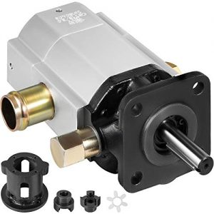 Mophorn Electric Hydraulic Pump 2 Stage 13 GPM Engine Mount, Plastic