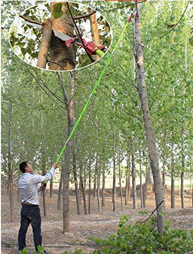 26 Feet Tree Pole Pruner 8Poles Saw Trimmer Shear Cutter Fiskers