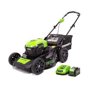 Greenworks 21-Inch 40V Cordless Brushless Lawn Mower