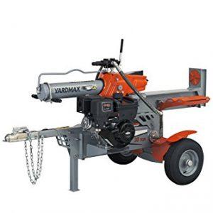 YARDMAX Ton Half Beam Gas Log Splitter, 4-Way Wedge