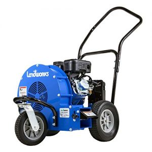 Landworks Leaf Blower Super Duty Wheeled Walk Behind Jet Sweep