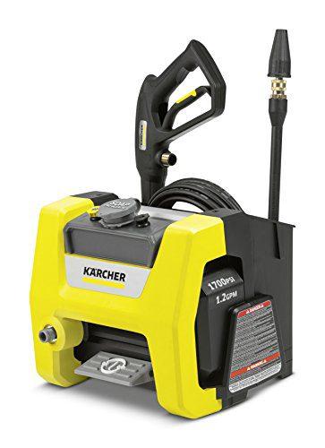 Karcher K1700 Cube Electric Power Pressure Washer 1700 PSI TruPressure