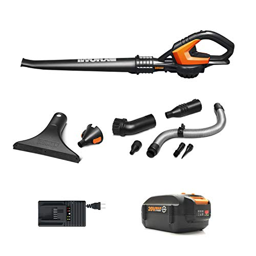 WORX Cordless Hi-Capacity Blower, Battery Included