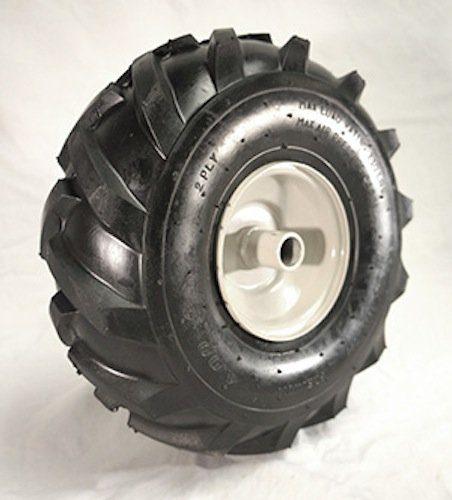 11 x 4.00 X 4 Tractor Tread Tire & Rim - Craftsman & Troy-Bilt Tiller Replacement