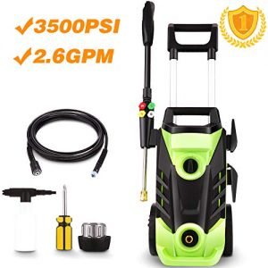 Homdox PSI Electric Pressure Washer, 1800W Power Washer