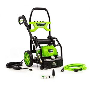 Greenworks PSI 1.2 GPM Open Frame Electric Power Cleaner Pressure Washer