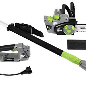 Earthwise 7-Amp 10-Inch Convertible 2-in-1 Corded Electric Pole Saw/Chainsaw