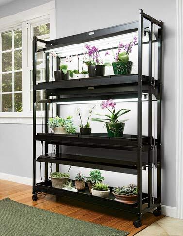 LED Sunlite High Intensity 3-Tier Indoor Gardening Grow Light 6500K Color