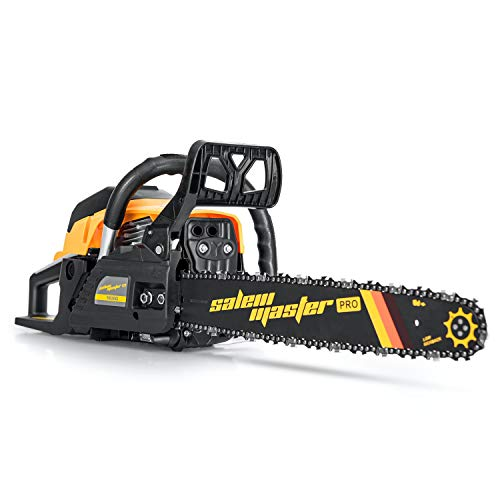 SALEM MASTER 2-Cycle Gas Powered Chainsaw, 18-Inch Chainsaw