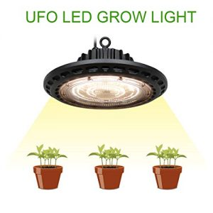 BloomGrow New Tech 300W Full Spectrum LED UFO Grow Light Lamp Bulb