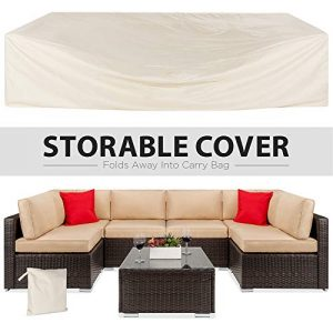 Best Choice Products 7 Piece Modular Outdoor Sectional