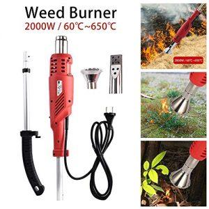 Electric Weed Burner 2000W, Weed Killer, Thermal Weeding Stick