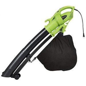 Goplus 3-in-1 Electric Leaf Blower/Vacuum/Mulcher Lightweight Corded Kit