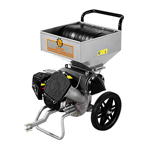 Dirty Hand Tools | Wood Chipper Shredder with Tow Hitch