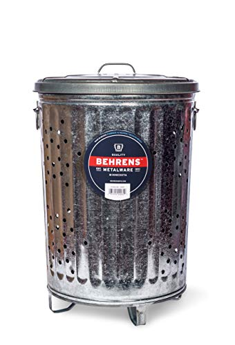 Behrens Manufacturing Composter Trash Can, 20 gal