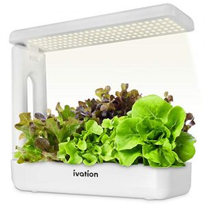Ivation Herb Indoor Garden Kit | Complete Hydroponic Grow System for Herbs