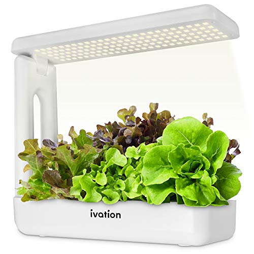Ivation Herb Indoor Garden Kit   Complete Hydroponic Grow System for Herbs