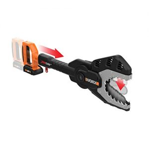 WORX JawSaw 20V PowerShare Cordless Electric Chainsaw with Auto-Tension