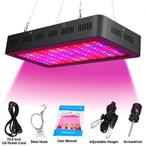ARKNOAH 1500W LED Grow Light Bulb Full Spectrum for Indoor Plants