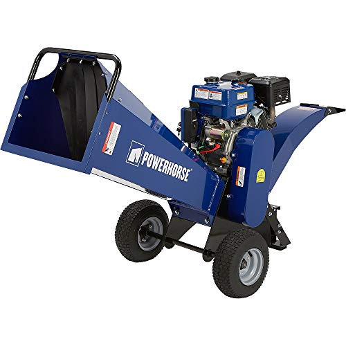 Powerhorse Rotor Wood Chipper - 420cc Ducar OHV Engine