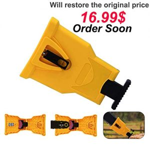 Deartisan Chainsaw Teeth Sharpener Pro, Safety Fast Sharpener Job