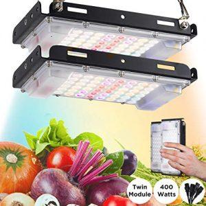 ECRU LED Grow Light Twin Panel - 400W Equivalent Growing Lamp