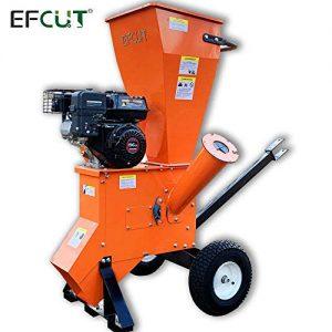 EFCUT A30 Wood Chipper Shredder Mulcher 6.5HP 196cc Heavy Duty LONCIN