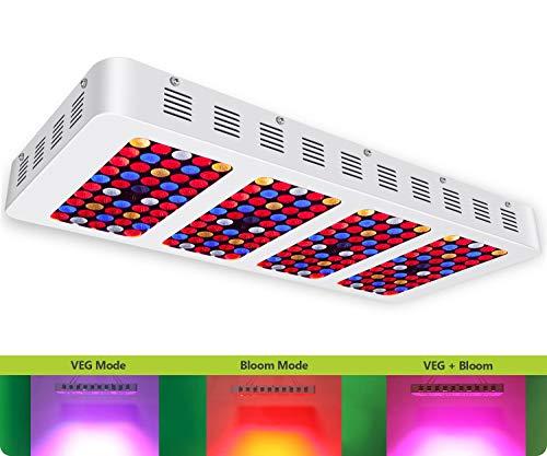 [Upgraded] iPlantop Newest 2000w LED Grow Light High Illumination
