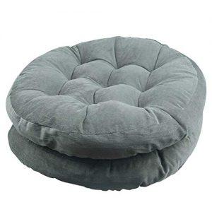 Solid Papasan Patio Seat Cushion Round Chair Pad Home Floor Cushion 22 Inch Set