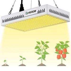 YGROW 600W LED Grow Light Full Spectrum,Update Light Plant Bulbs