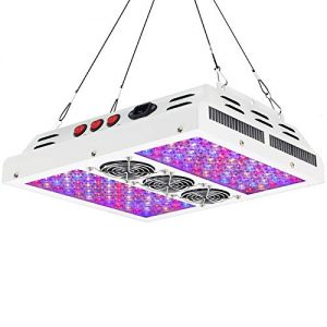 VIPARSPECTRA PAR600 600W 12-Band LED Grow Light - 3-Switches Full Spectrum