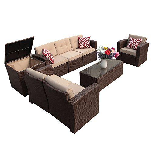 Super Patio Patio Furniture, 8 Piece Outdoor Furniture Set