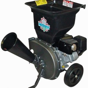 Patriot Products 10 HP Briggs & Stratton Gas-Powered Wood Chipper/Leaf Shredder