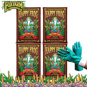 Fox Farm Happy Frog Organic Potting Soil, Growing Soil 2 Cubic Feet