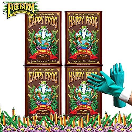 Fox Farm Happy Frog Organic Potting Soil, Growing Soil 2 Cubic Feet