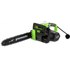GreenWorks Electric Chainsaw, 14-Inch