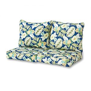 Greendale Home Fashions Deep Seat Loveseat Cushion Set