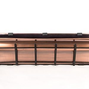 H Potter Window Planter Box Copper Flower Outdoor Plant Container for Windows