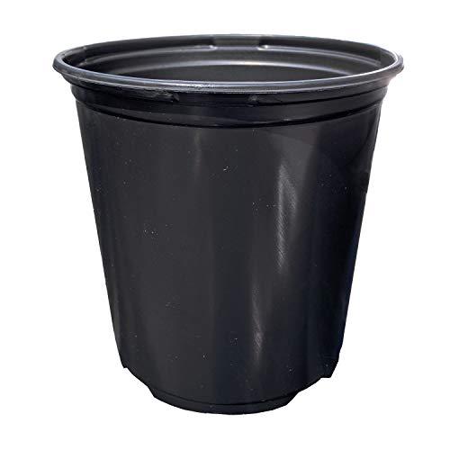 Black Plastic One Gallon Trade Pots - Holds 0.664 Gallon - 270 Pots per case
