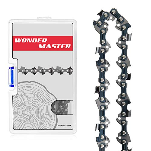 """WONDER MASTER 16 Inch Chainsaw Chains 1Pack - 3/8"""" Low Pitch"""