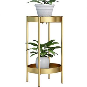 ZEETOON Modern Tall Plants Stand, Orchid Display Rack Potted Plant Holder